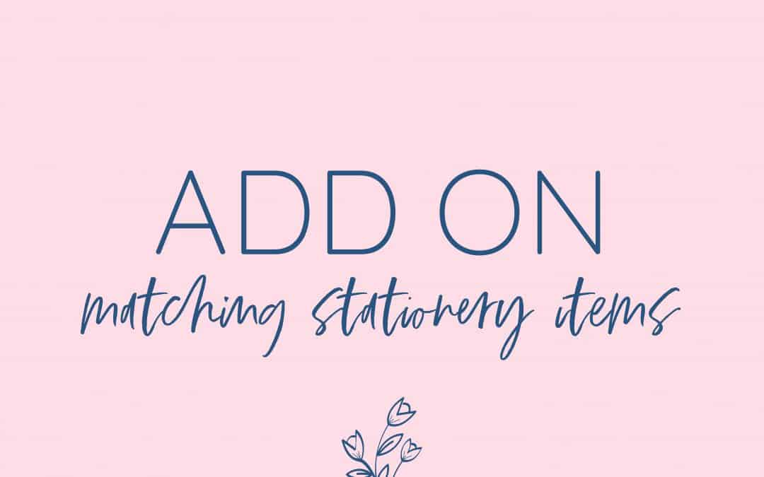 Add On Printable Party Decorations